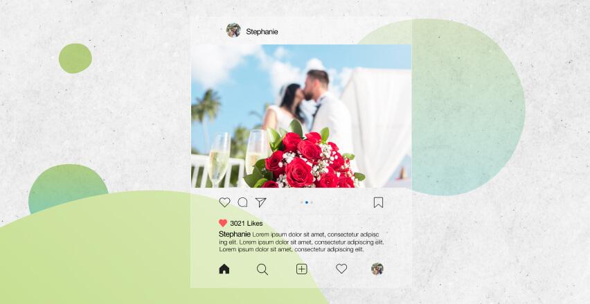 Dein Lieblings-Instagram Post als Wanddeko