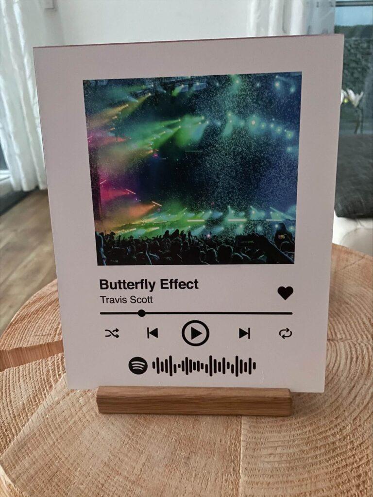 Acrylglas Spotify